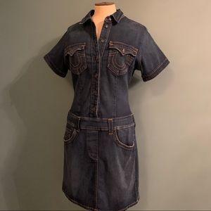True Religion Denim Mini Dress